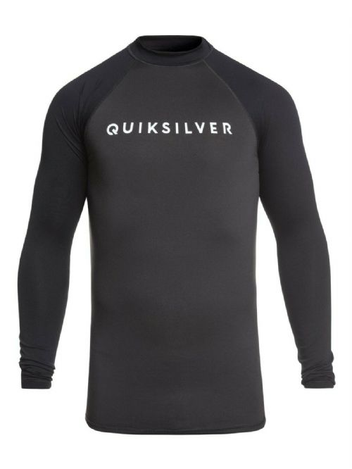 QUIKSILVER MENS RASH VEST.ALWAYS THERE UPF50+ LONG SLEEVED TOP T SHIRT 9S 43KT
